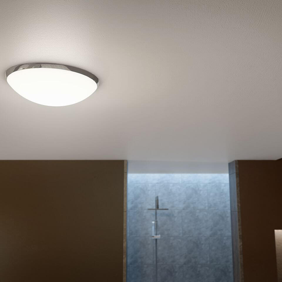 Sensio Cora Dome Led Ceiling Light Se62191w0