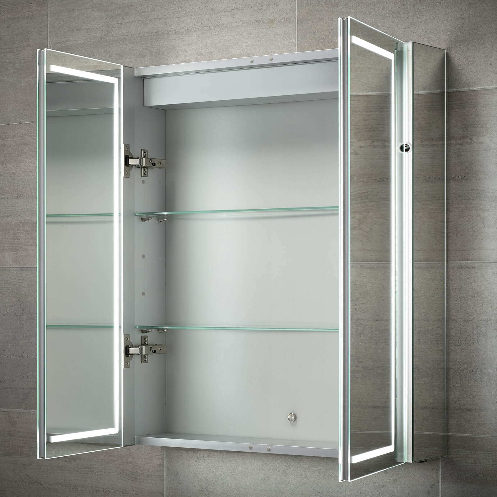 Sensio Sonnet 600 X 700mm Illuminated Led Double Door