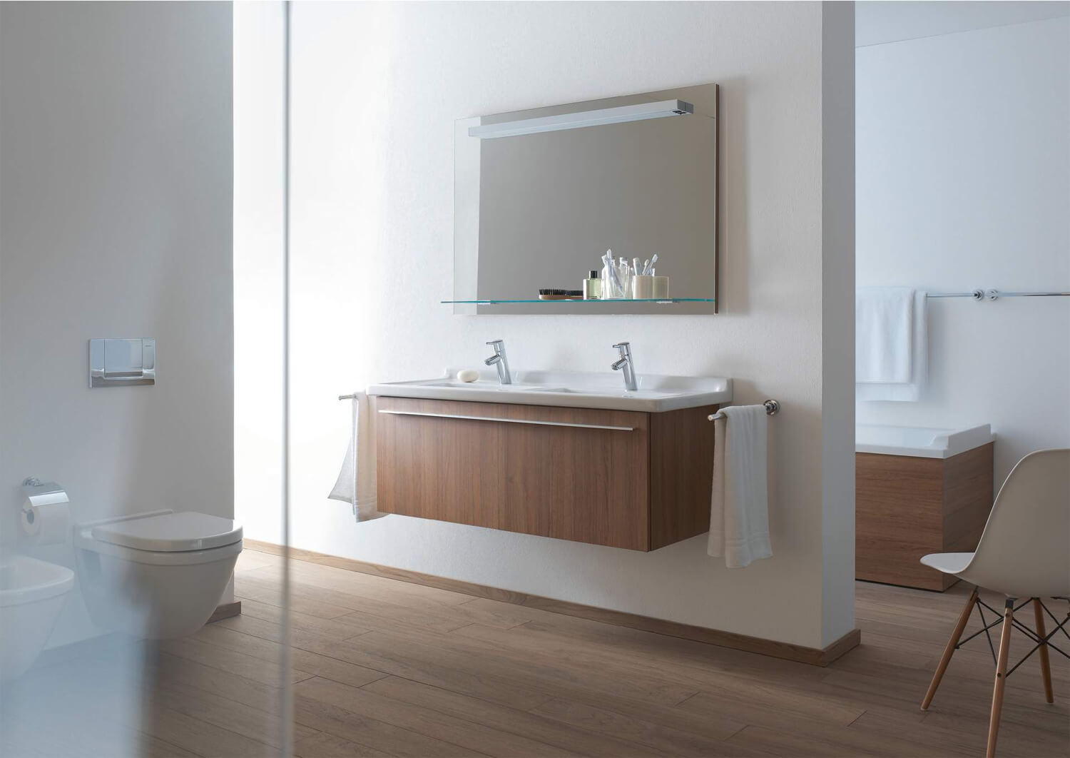 Duravit X Large 1200mm Vanity Unit With 1 Compartment For