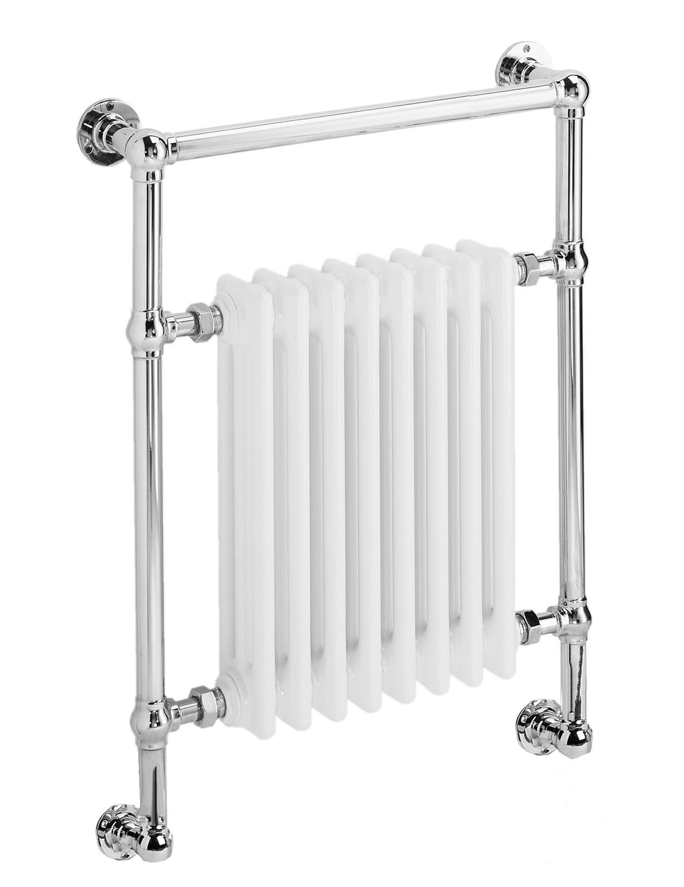 dq heating lynford wall mounted chrome towel rail 509 x. Black Bedroom Furniture Sets. Home Design Ideas