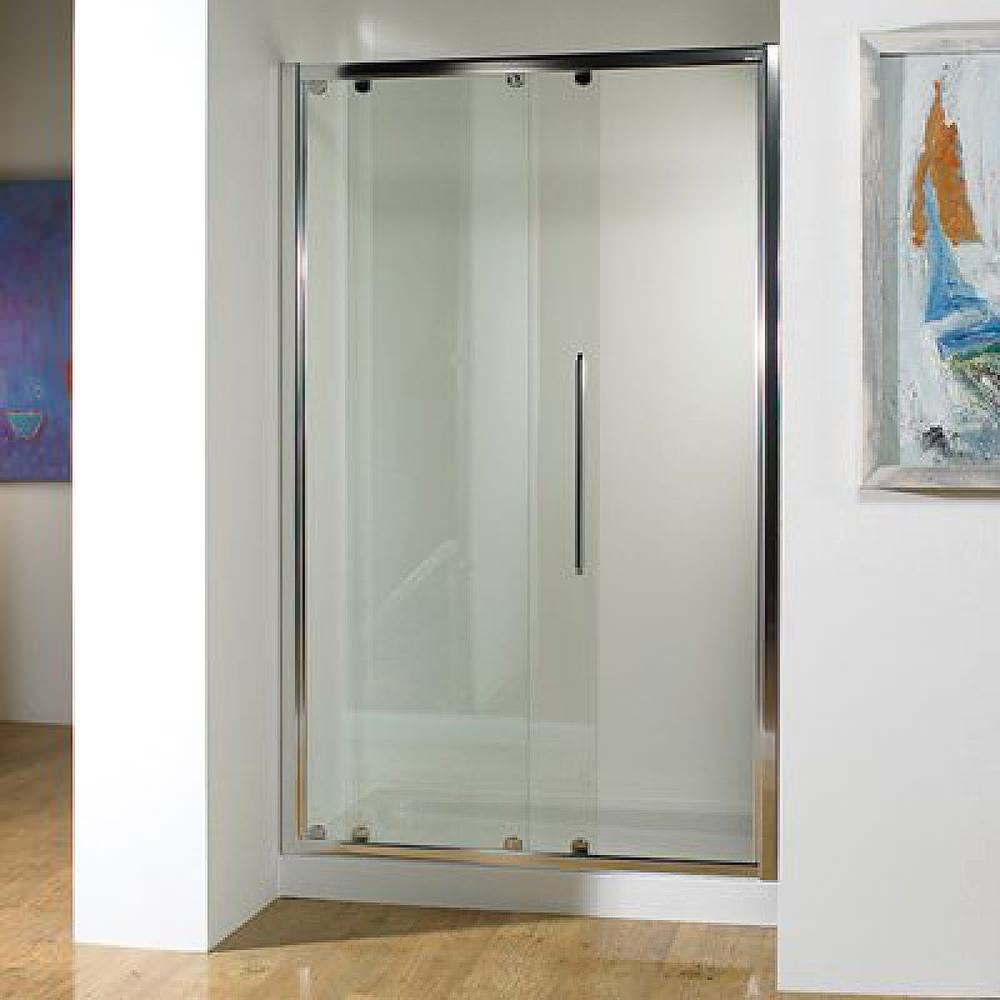 Kudos Original Straight 1200mm Sliding Shower Enclosure With Tray And Waste