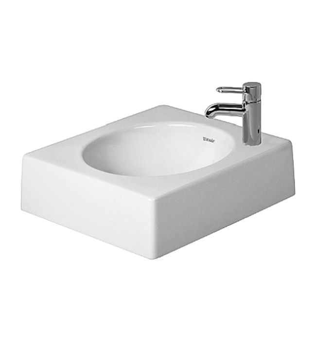 Duravit architec 450mm above counter ground basin 0320450000 for Duravit architec sink
