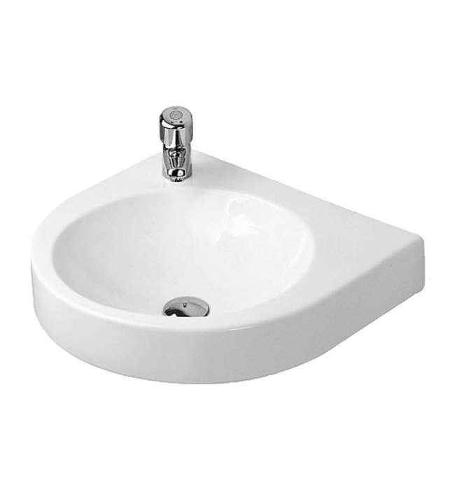 Duravit architec 575 x 520mm left hand tap hole basin for Duravit architec basin