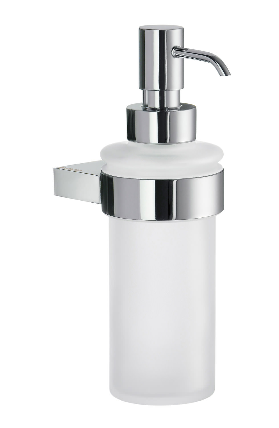 Smedbo Air Frosted Glass Soap Dispenser With Holder Ak369