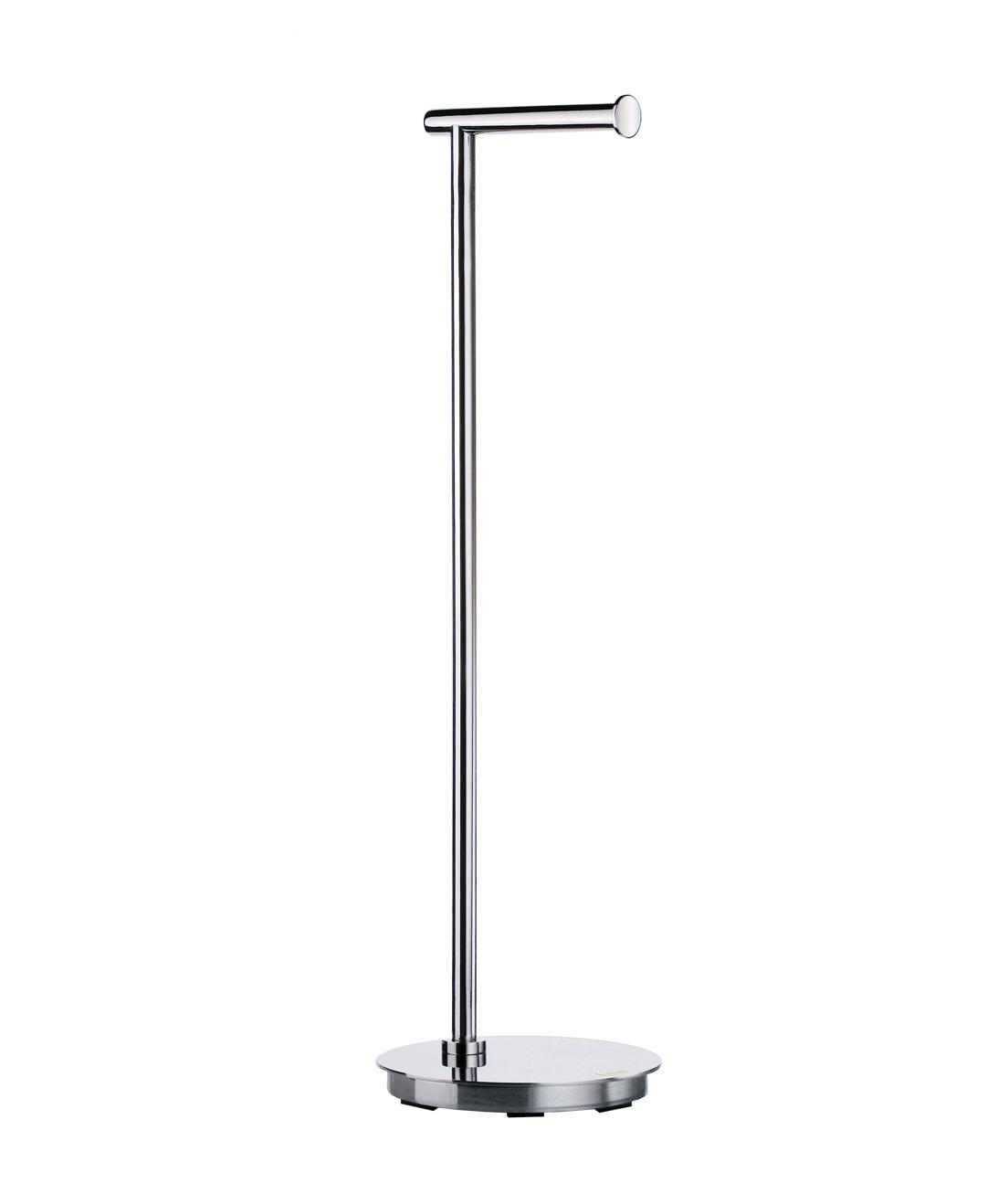 smedbo outline lite free standing toilet roll holder round base -