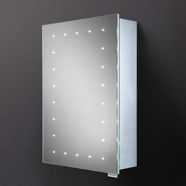 HIB Vogue Steam Free LED Illuminated Mirror Cabinet 500 X 700mm