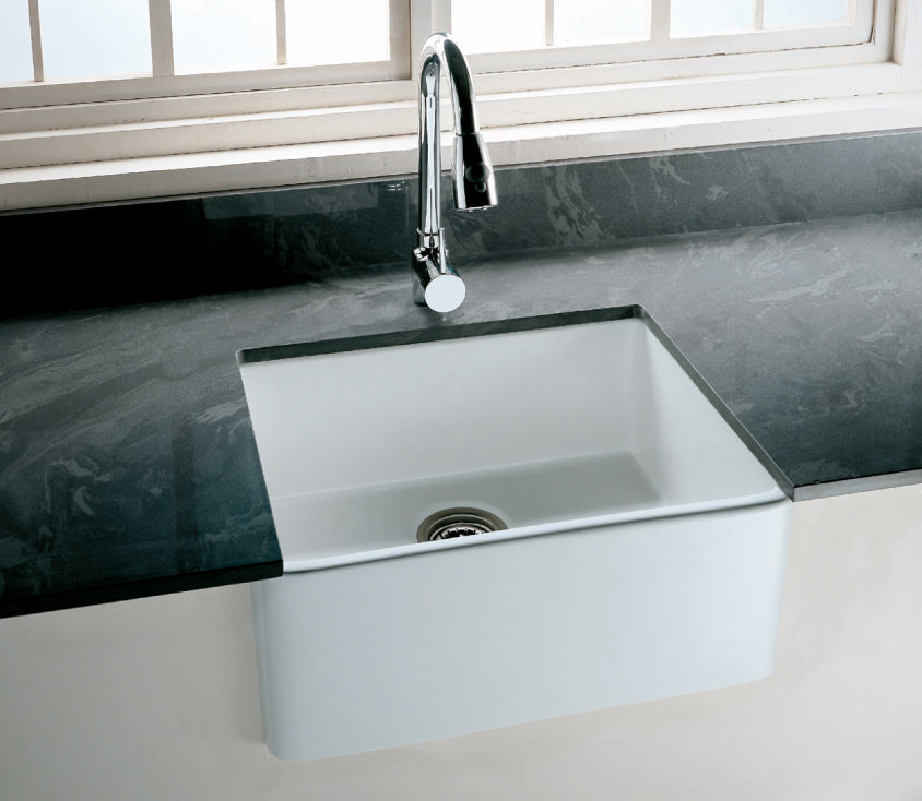 Rak Gourmet 2 Belfast Style Fireclay Over Or Undermount Sink