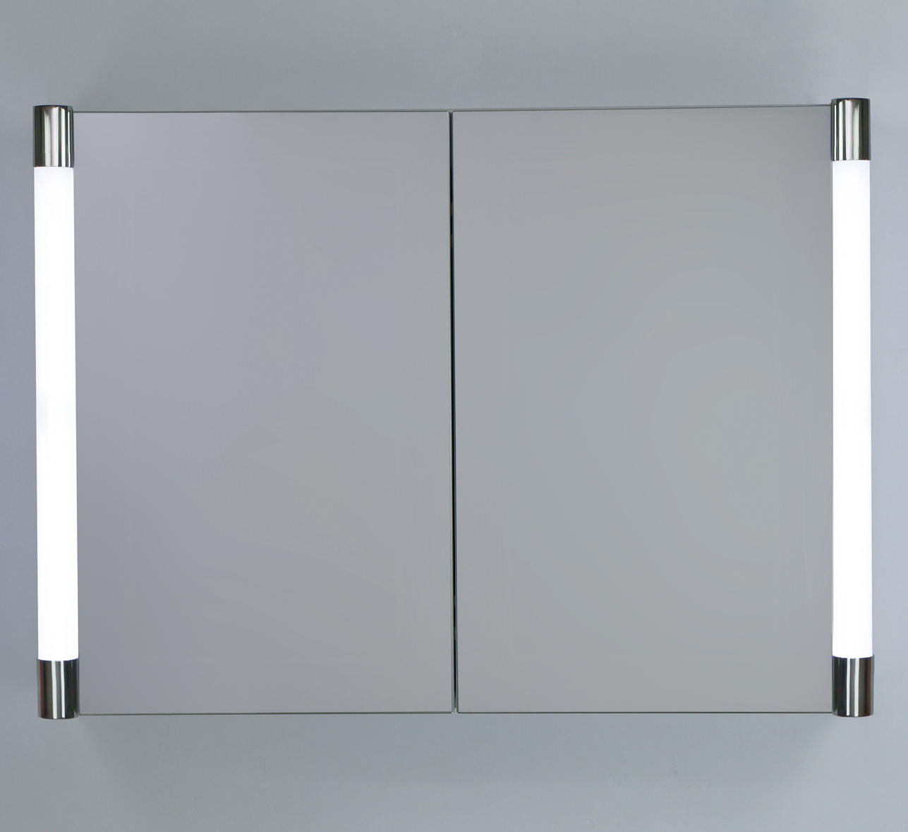 RAK Verona Double Door LED Illuminated Mirrored Cabinet 700 X 500mm