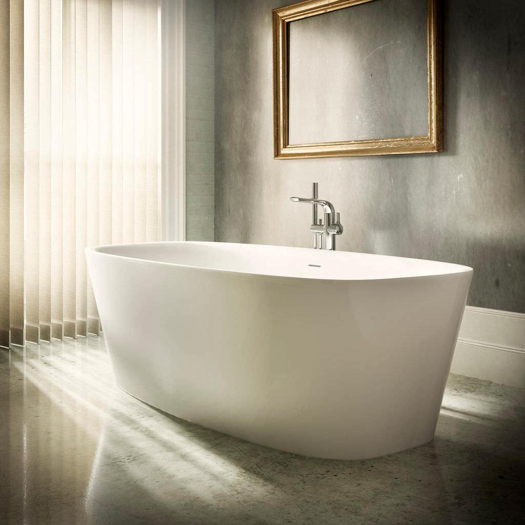 Ideal standard dea freestanding 1700mm double ended bath - Vasca da bagno 100x70 ...