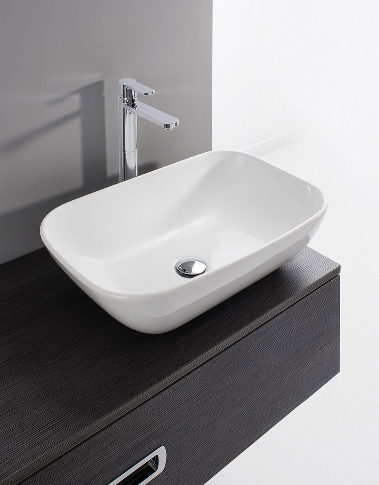 Bauhaus Gallery Serene 580mm Countertop Basin Without
