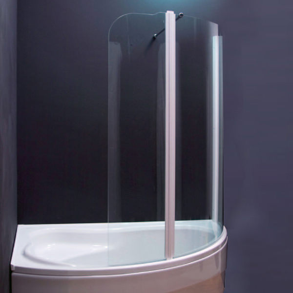 Aquaestil Olbia 1600mm Left Handed Shower Screen