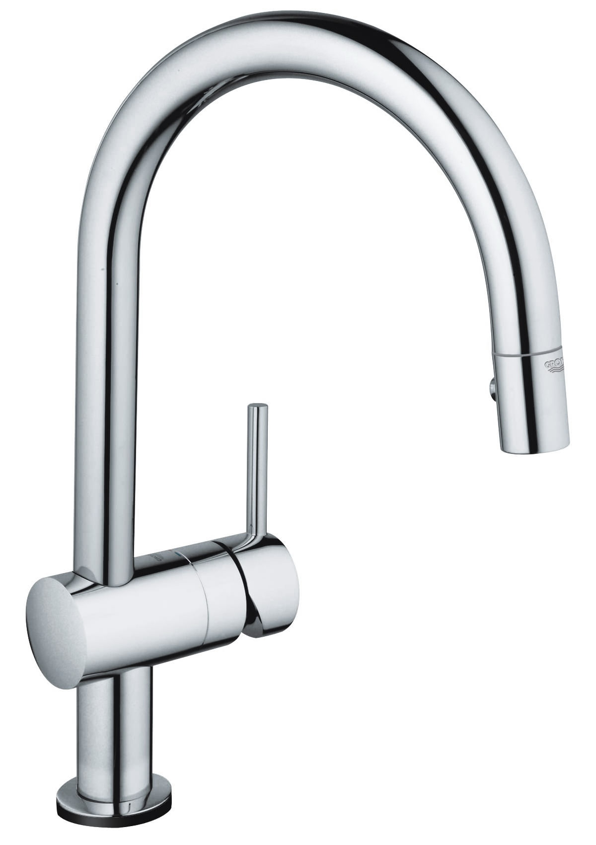 Grohe Minta Touch Electro Single Lever Pull Out Spray Kitchen Tap