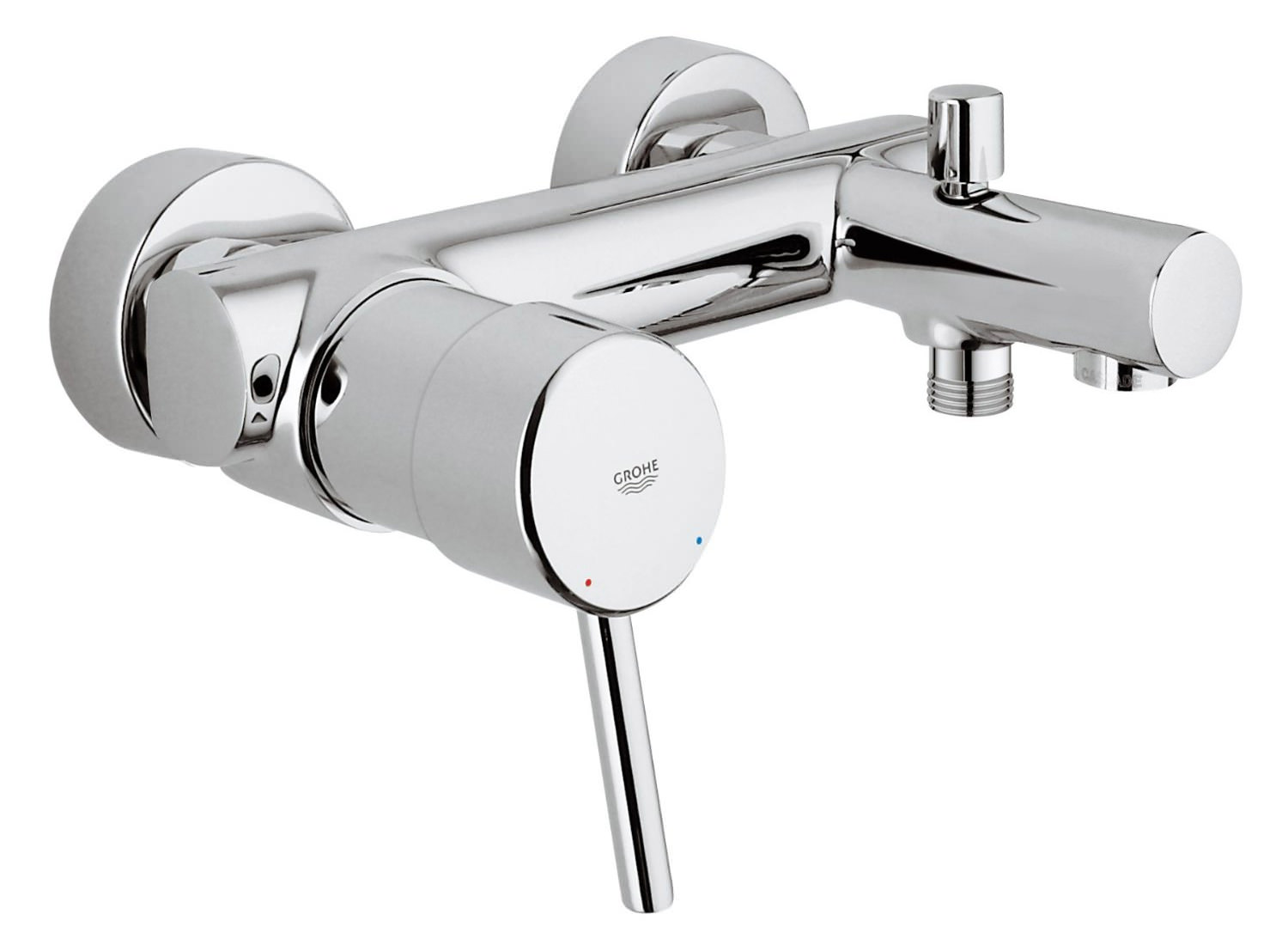 Grohe concetto wall mounted 1 2 inch single lever bath - Grohe concetto shower ...