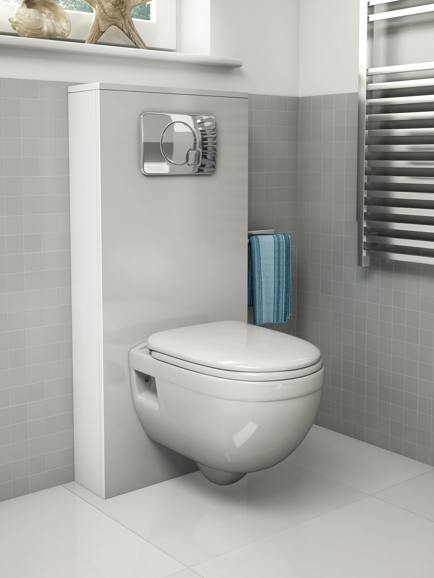 Pura Ivo Wall Hung Wc Bowl 500mm Ch1076