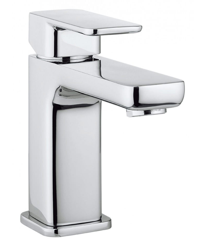 crosswater atoll monobloc basin mixer tap chrome at110dnc. Black Bedroom Furniture Sets. Home Design Ideas