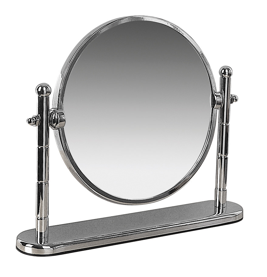 Miller Classic 190mm Round Magnifying Mirror With Stand 683c