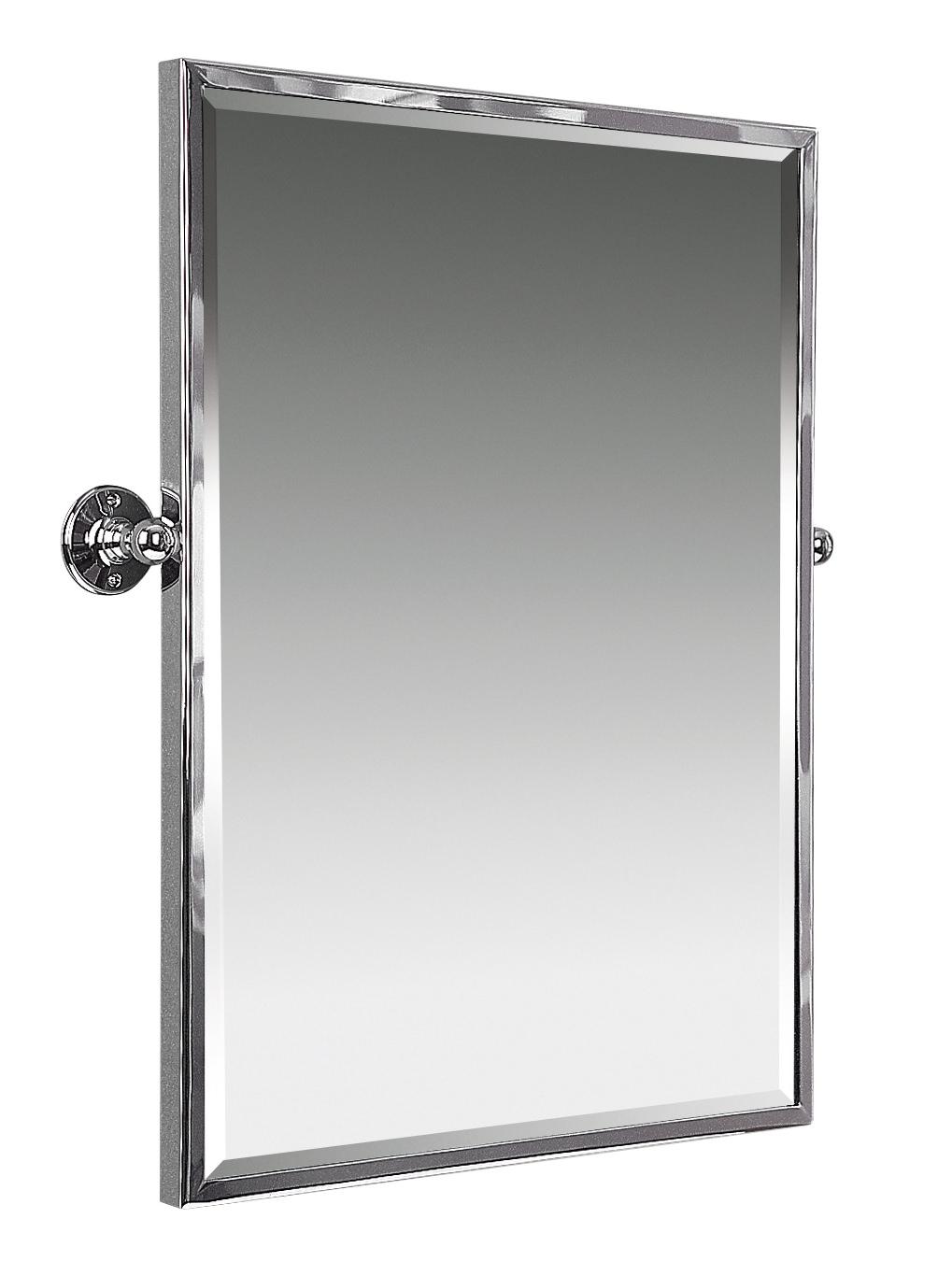 610mm Framed Swivel Mirror, Swivel Bathroom Mirror