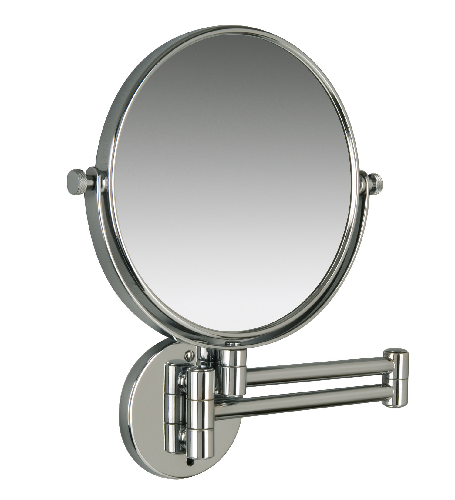 Miller classic modern 190mm round magnifying mirror 8781c for Shaving mirror