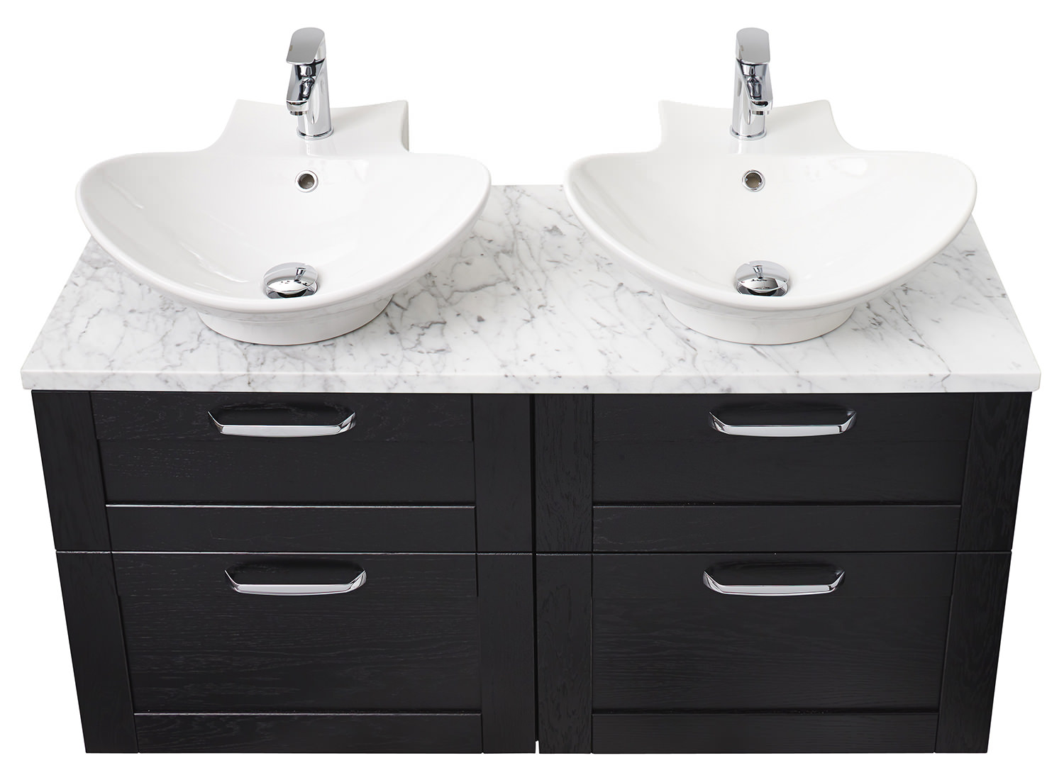 Miller 500mm Counter Top Or Wall Hung Ceramic Basin 116w1