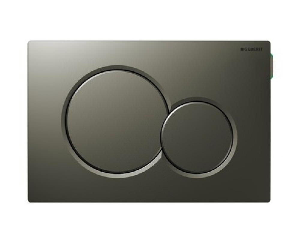 Geberit Sigma01 Dual Flush Plate Satinox