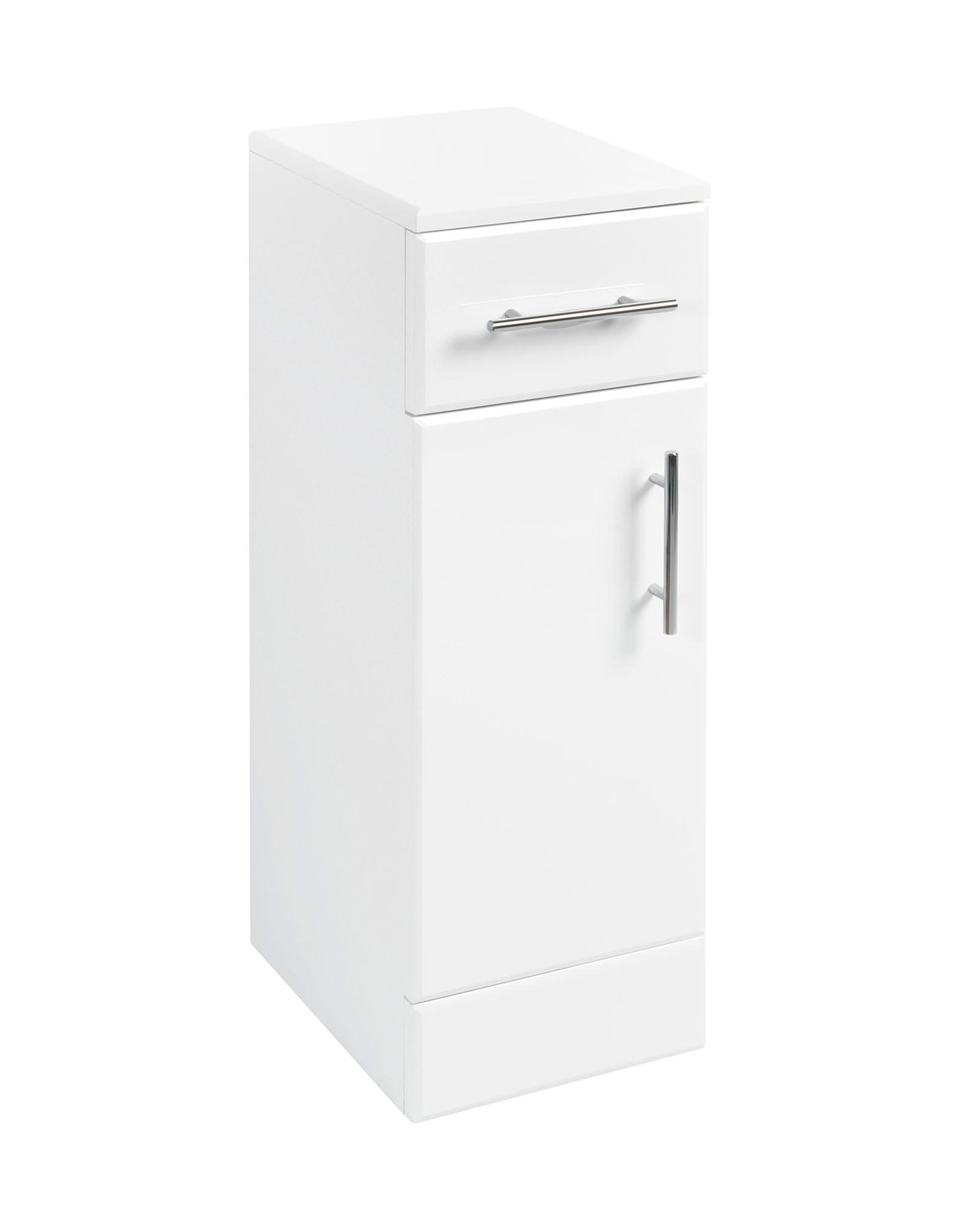 Tarragona White Floor Bathroom Cabinet : Bathroom floor cabinet white proman products
