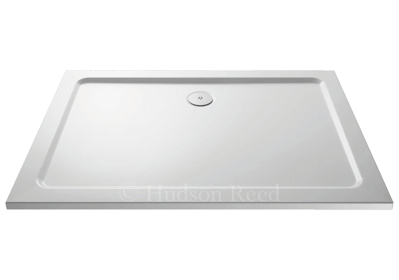 hudson reed pearlstone rectangular shower tray 1500x700mm. Black Bedroom Furniture Sets. Home Design Ideas