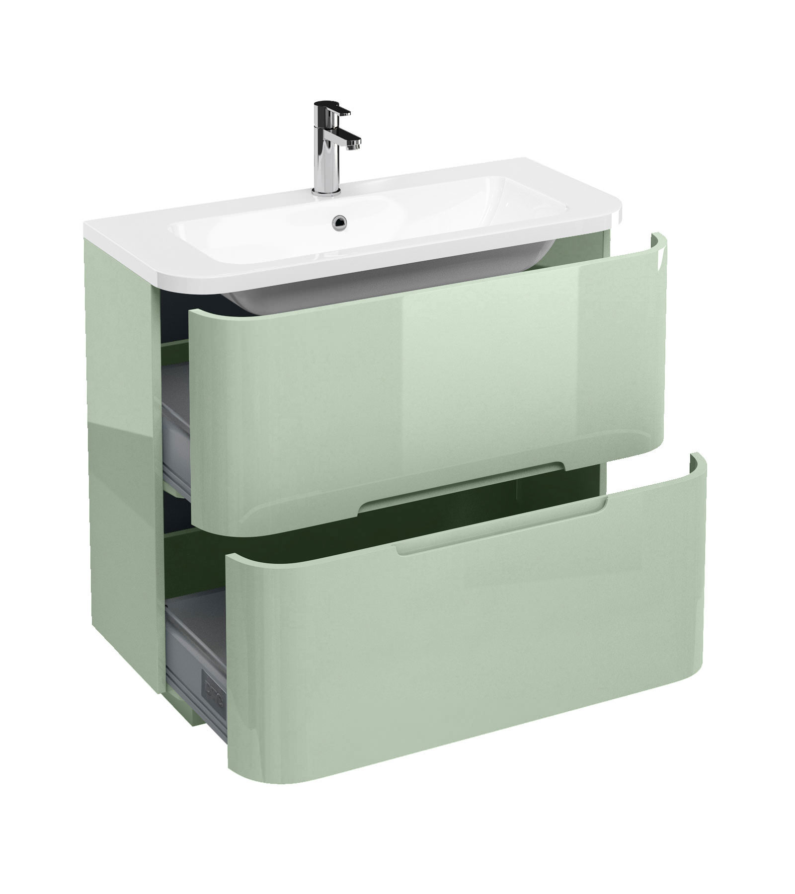 Britton aqua cabinet floor mounted drawer unit 900mm with for Floor standing bathroom furniture