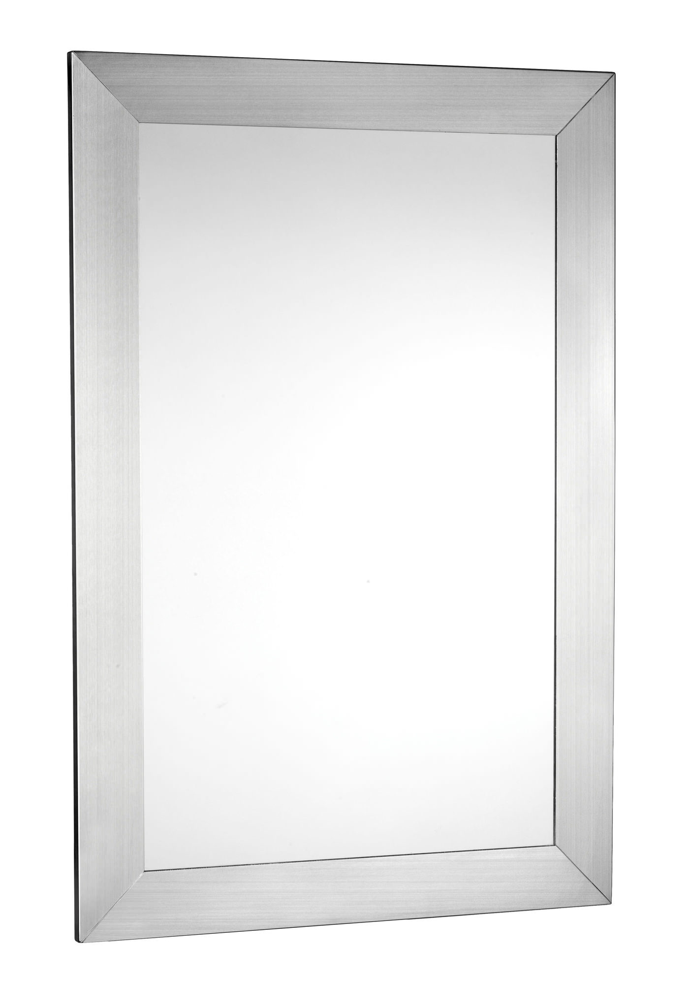 Croydex Parkgate Mirror With Brushed Stainless Steel Frame