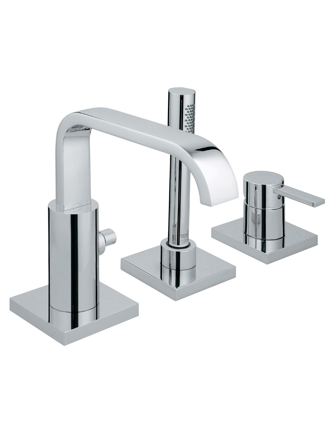 Grohe Spa Allure 3 Hole Single Lever Bath Combination 19316000