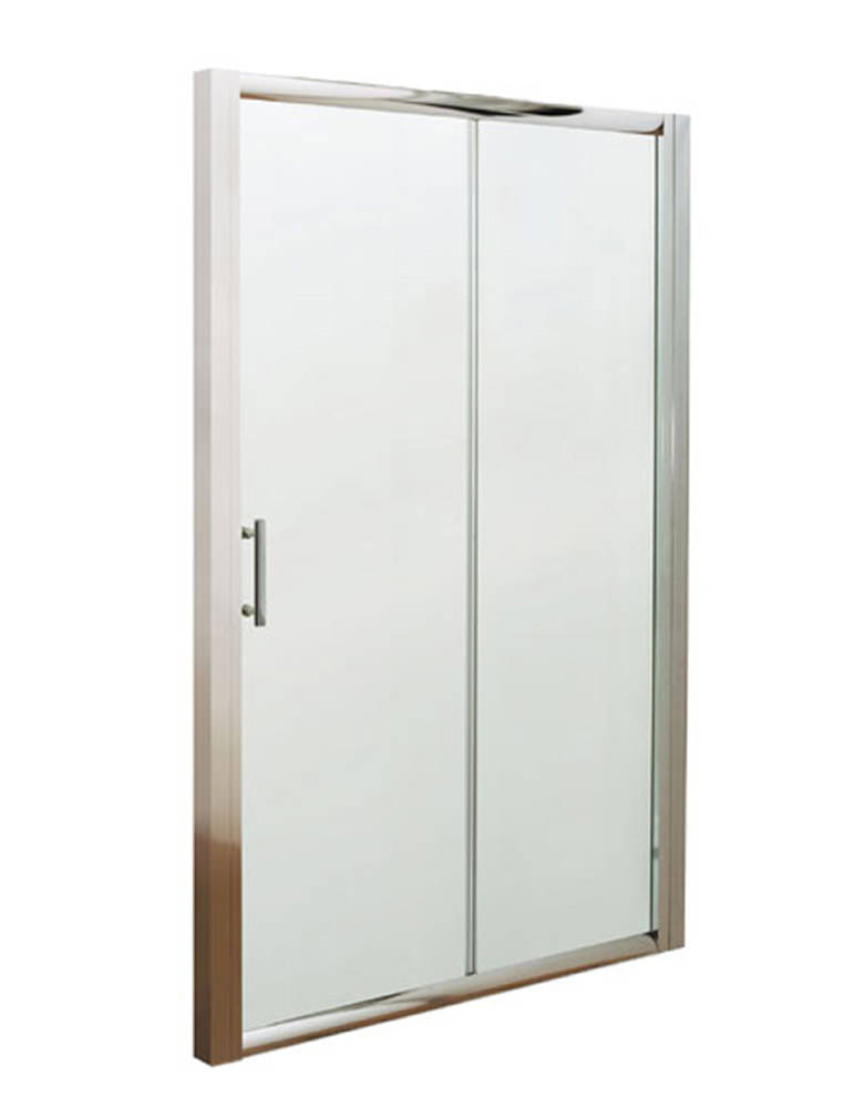 Lauren pacific sliding shower door 1500 x 1850mm aqsl15 for 1500 sliding shower door