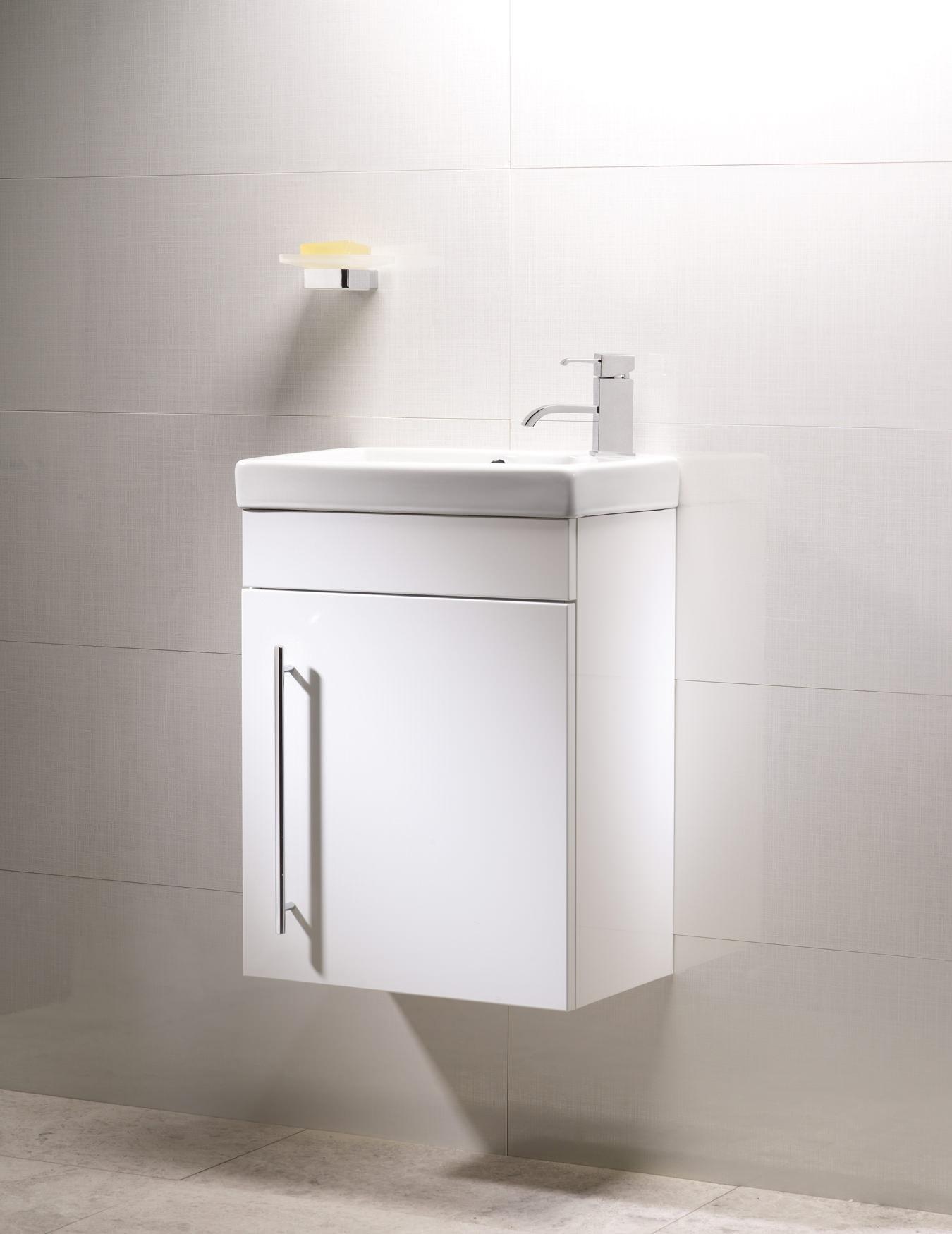 roper rhodes esta mm white wall mounted vanity unit and basin  - roper rhodes esta mm white wall mounted vanity unit and basin