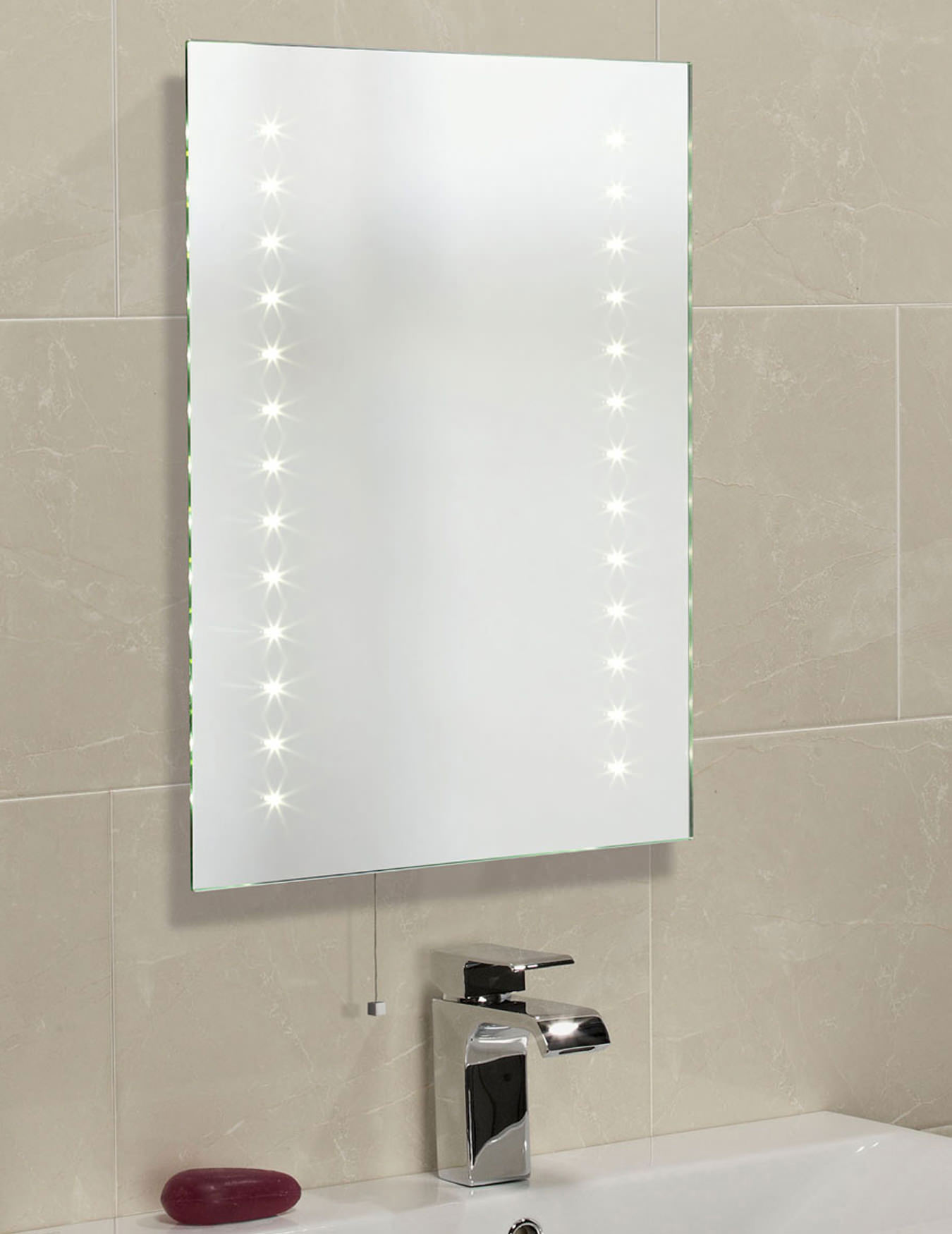 mirror for small bathroom roper clarity atom led illuminated mirror 600 x 19482