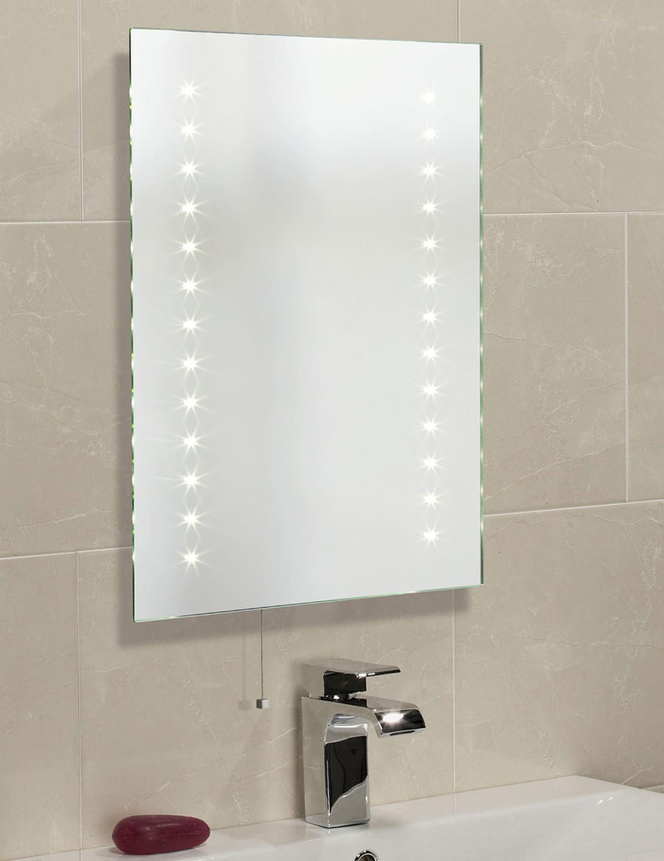 Bathroom Mirrors Illuminated: Roper Rhodes Clarity Atom LED Illuminated Mirror 600 X