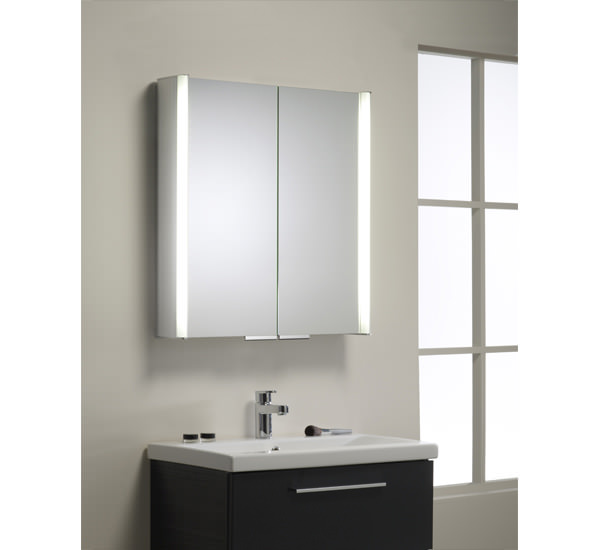 Roper Rhodes Summit 654mm Double Door Mirror Cabinet White