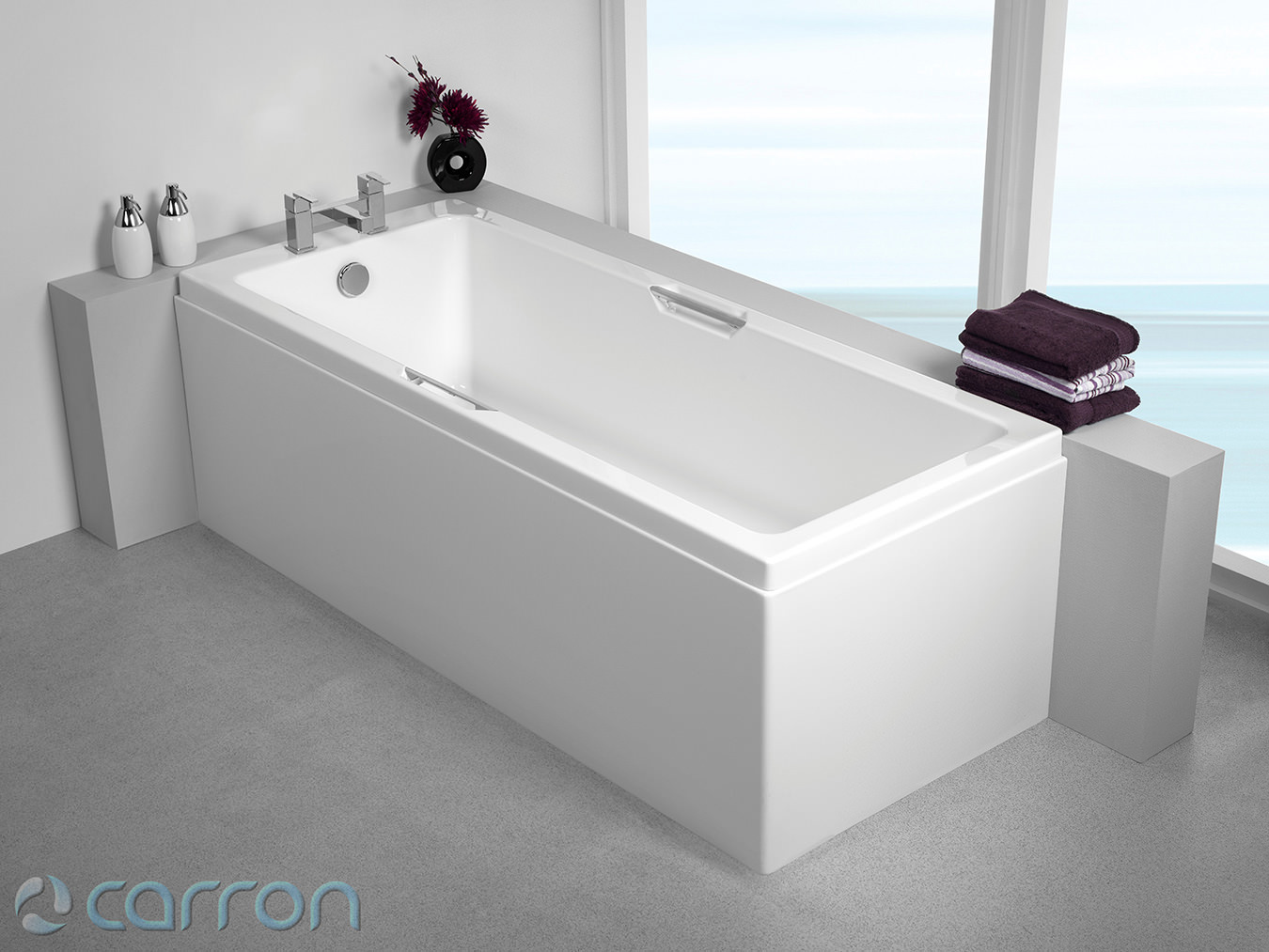 Carron Quantum Integra Single Ended Acrylic Bath 1700 X 700mm Q4 02169