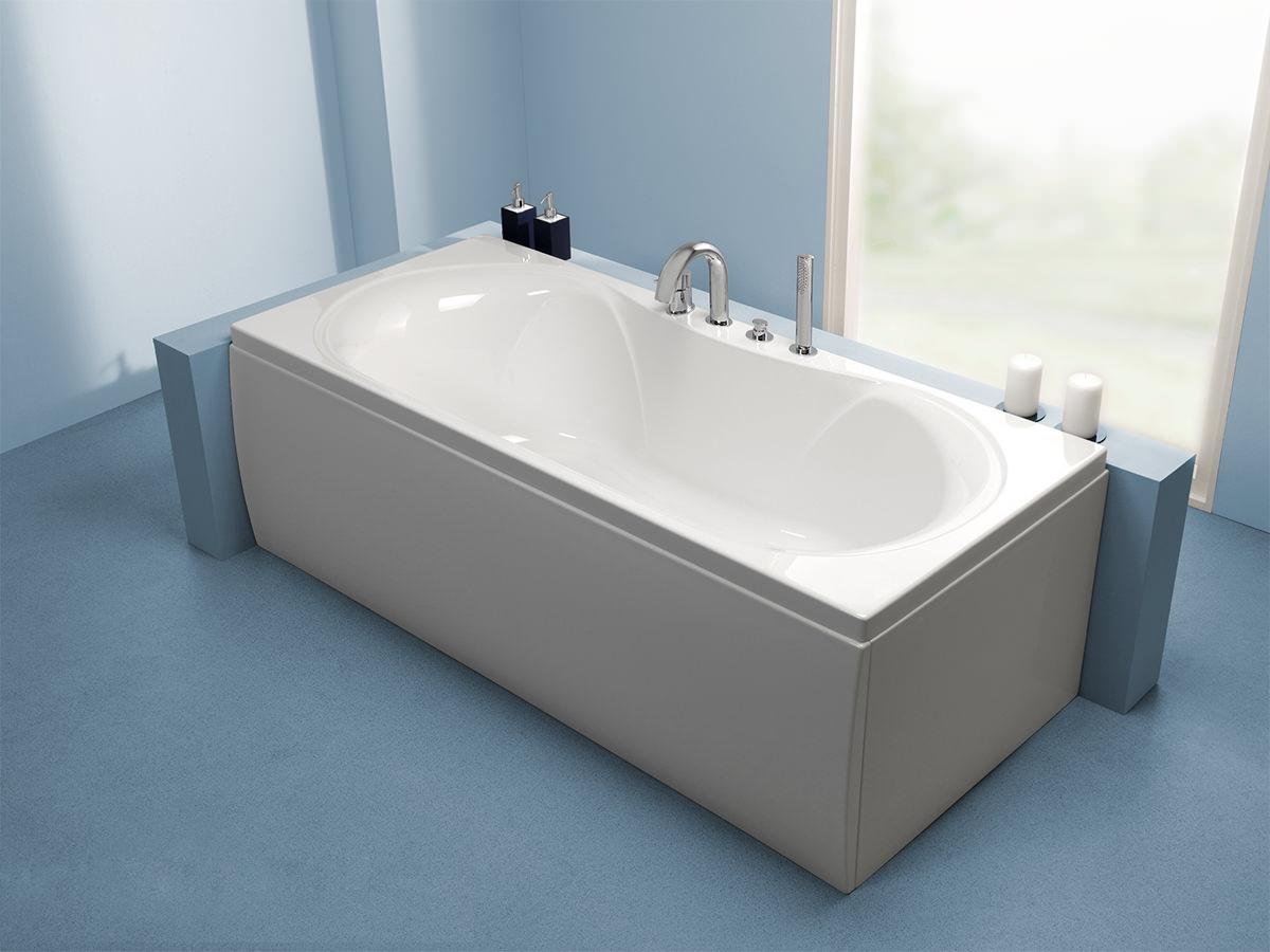 Carron Arc Duo Double Ended 5mm Acrylic Bath 1800 X 800mm