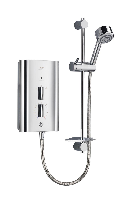mira escape electric shower 9kw chrome. Black Bedroom Furniture Sets. Home Design Ideas