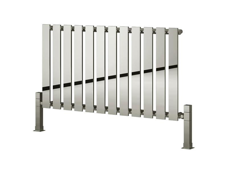 Bathroom Radiators reina pienza designer radiator 485 x 550mm chrome | rnd-pnz485