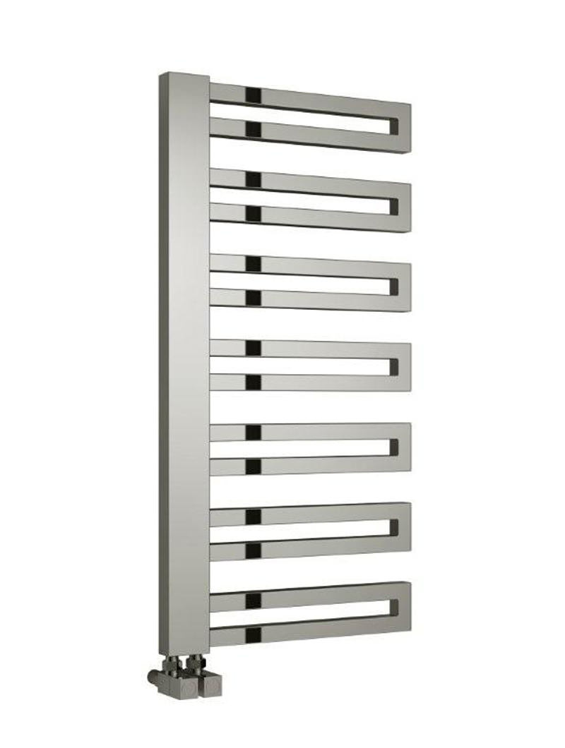 reina ginosa designer radiator 500 x 1000mm chrome rnd. Black Bedroom Furniture Sets. Home Design Ideas