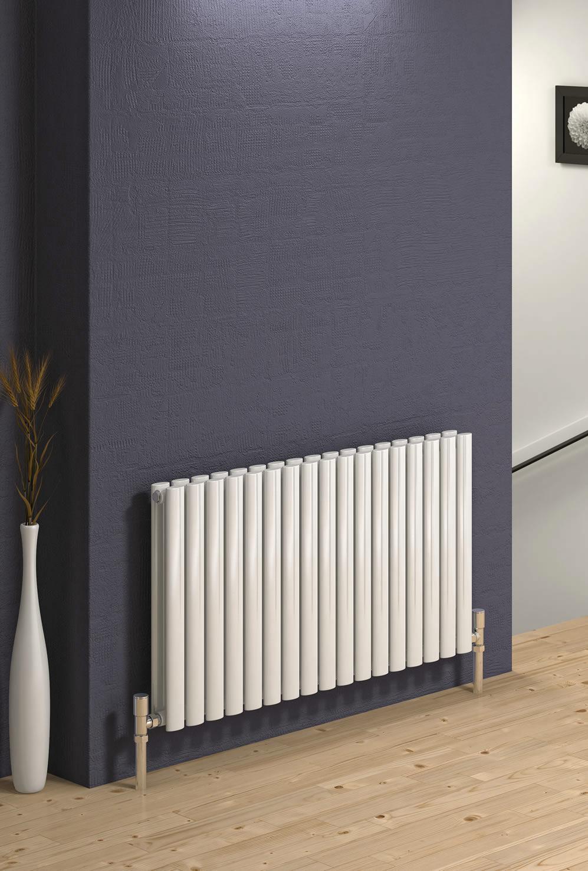 reina neva double panel designer horizontal radiator 413 x. Black Bedroom Furniture Sets. Home Design Ideas