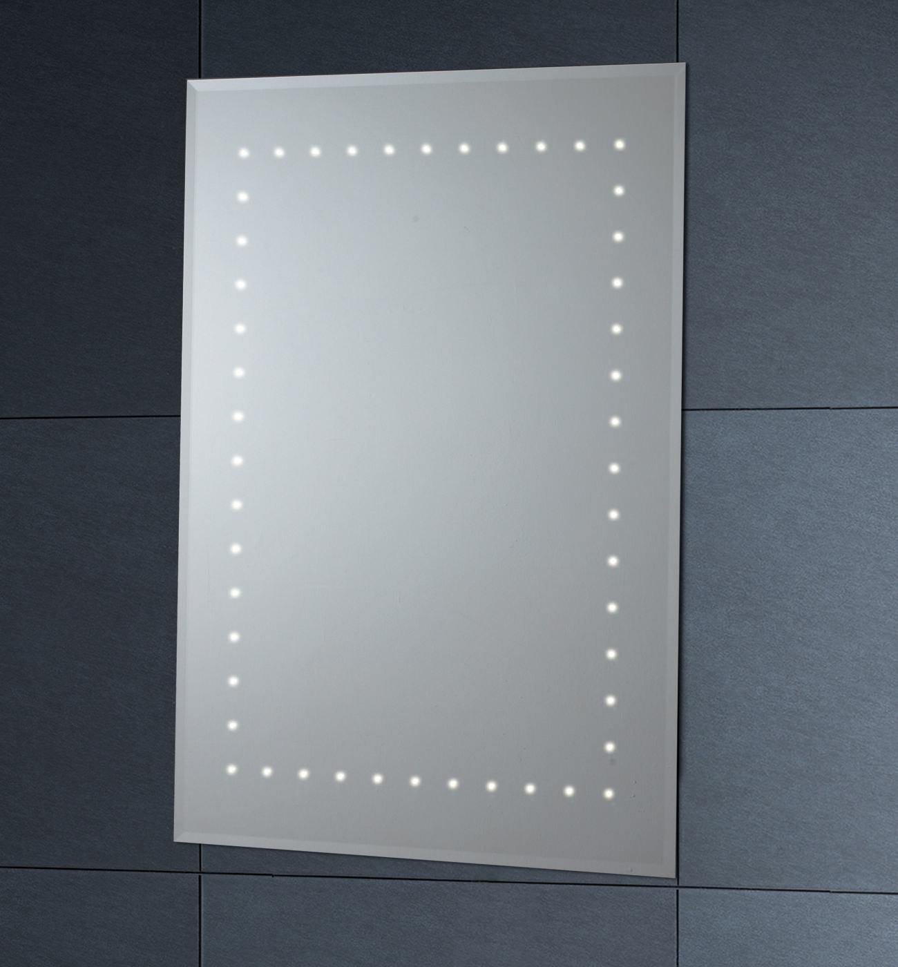 Phoenix Led Mirror With Demister Pad 500mm X 700mm Mi012