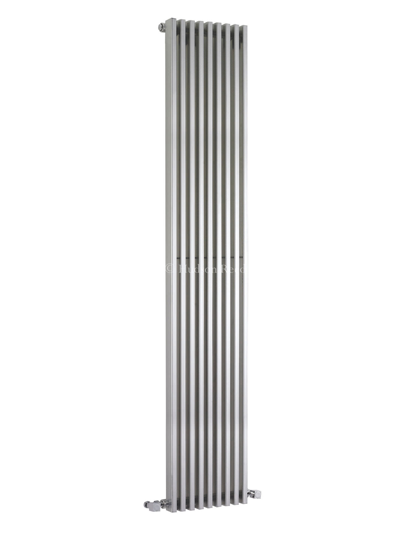 hudson reed parallel designer radiator 342 x 1800mm silver. Black Bedroom Furniture Sets. Home Design Ideas
