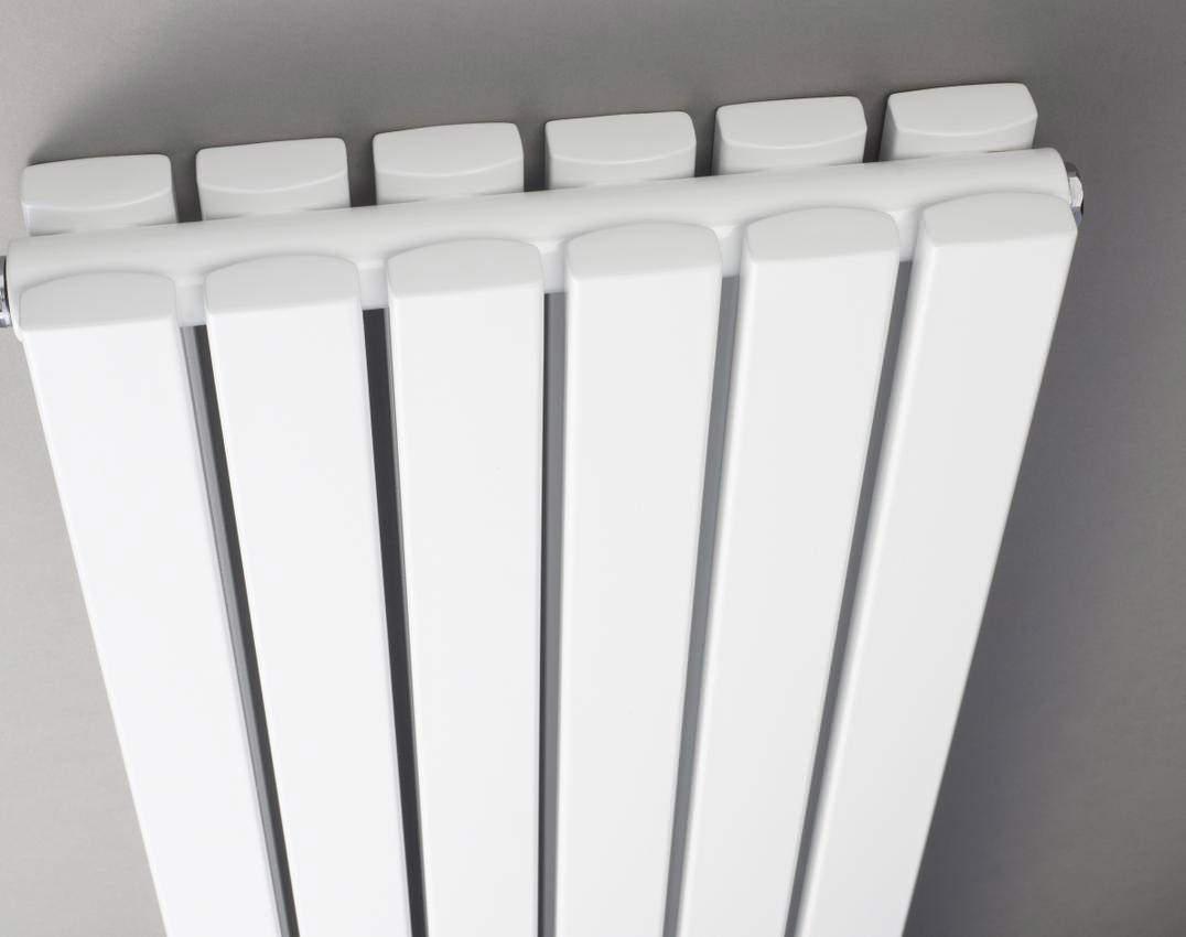 hudson reed sloane double panel radiator mirror 381x1800mm. Black Bedroom Furniture Sets. Home Design Ideas