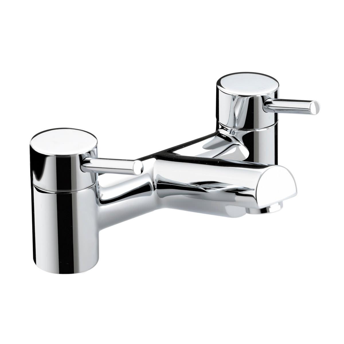 Bristan Prism Bath Filler Tap Chrome Pm Bf C