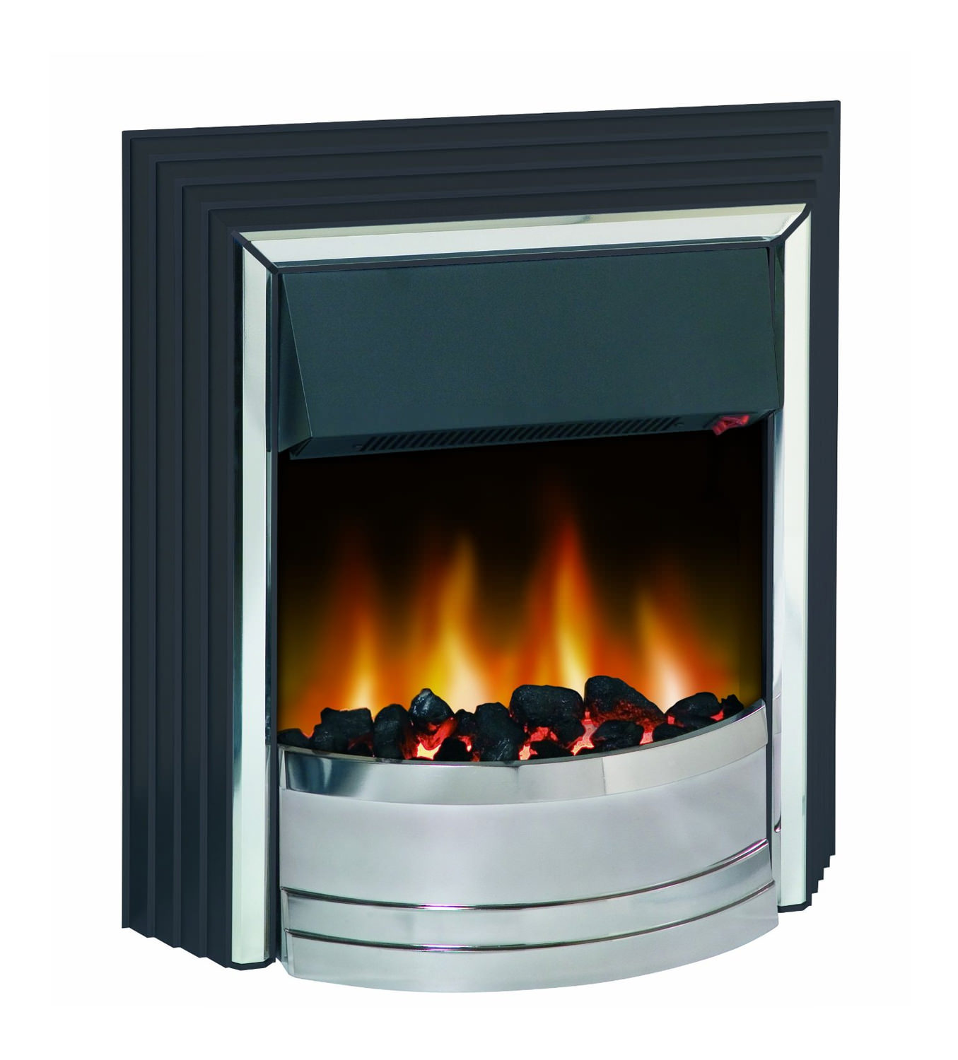 Dimplex Zamora Manual Control Outset Electric Fire Black