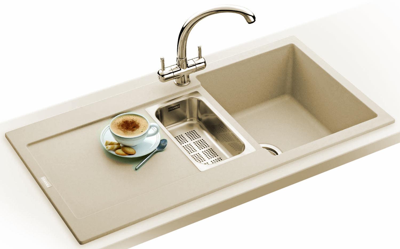 Franke 1 Bowl Sink : ... of Franke Maris MRG 651 Fragranite Coffee 1.5 Bowl Kitchen Inset Sink