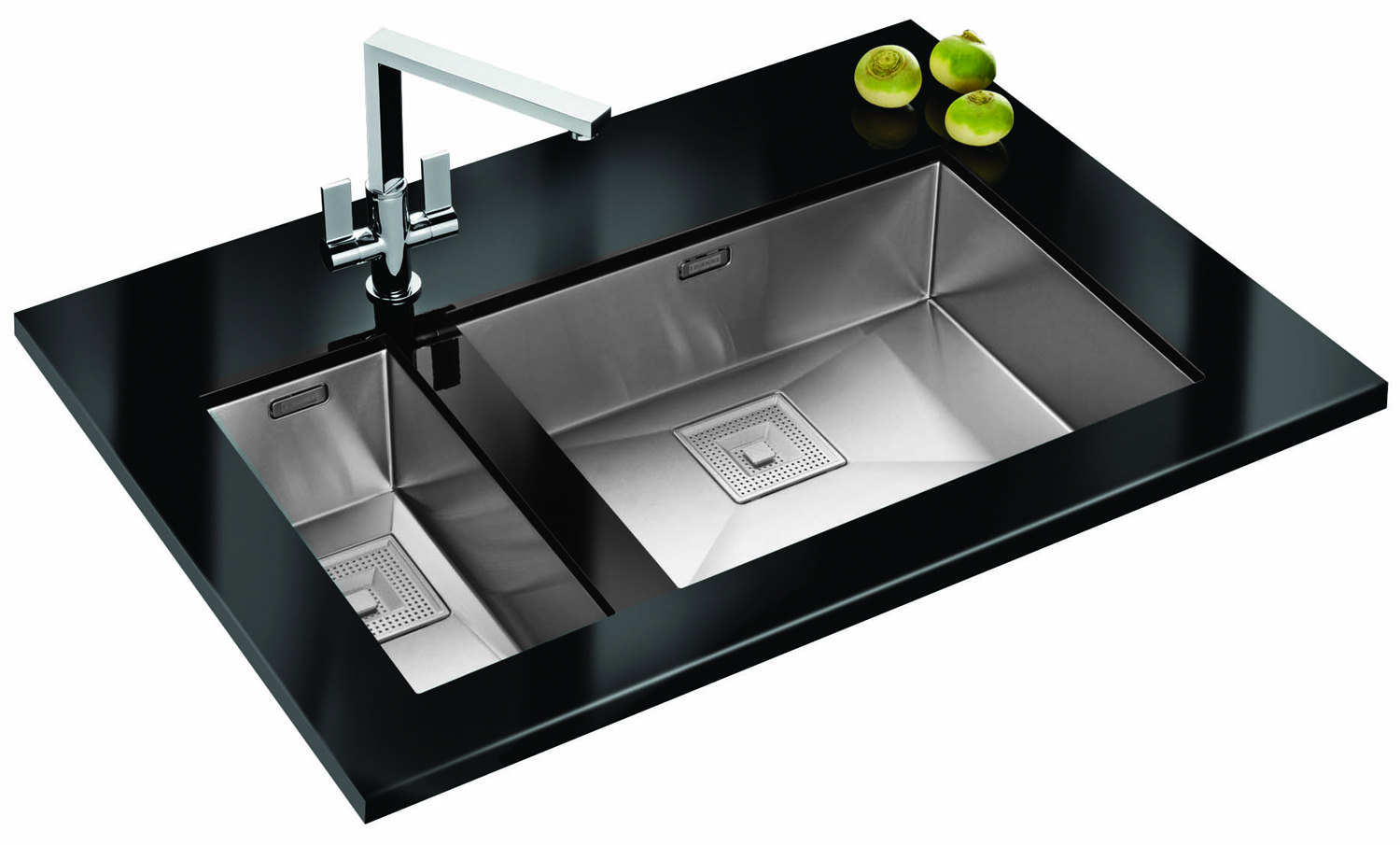 Franke Ss Sinks : ... of Franke Peak PKX 110 55 Stainless Steel 1.0 Bowl Undermount Sink