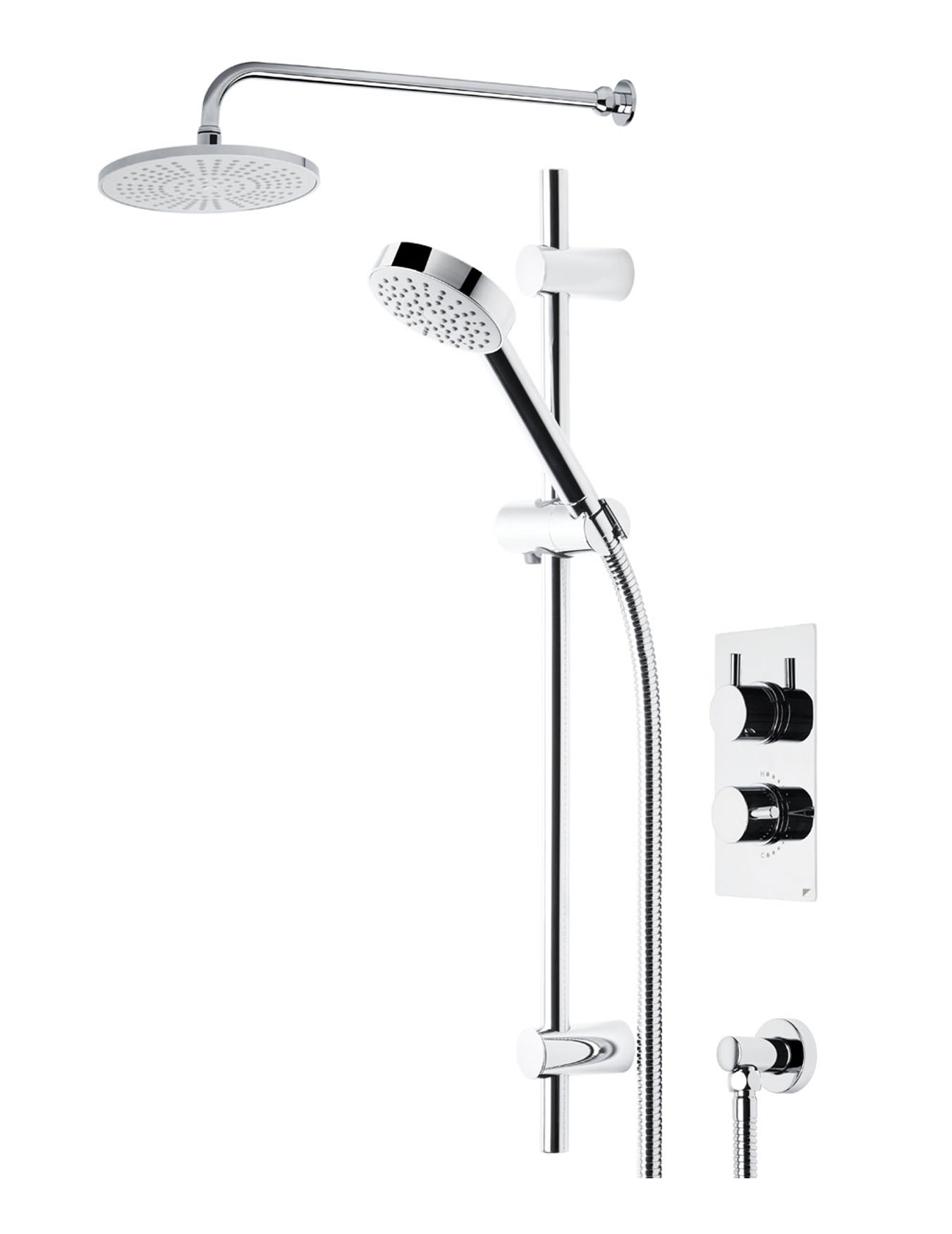 Roper Rhodes Event Shower System 1 Chrome | SVSET01