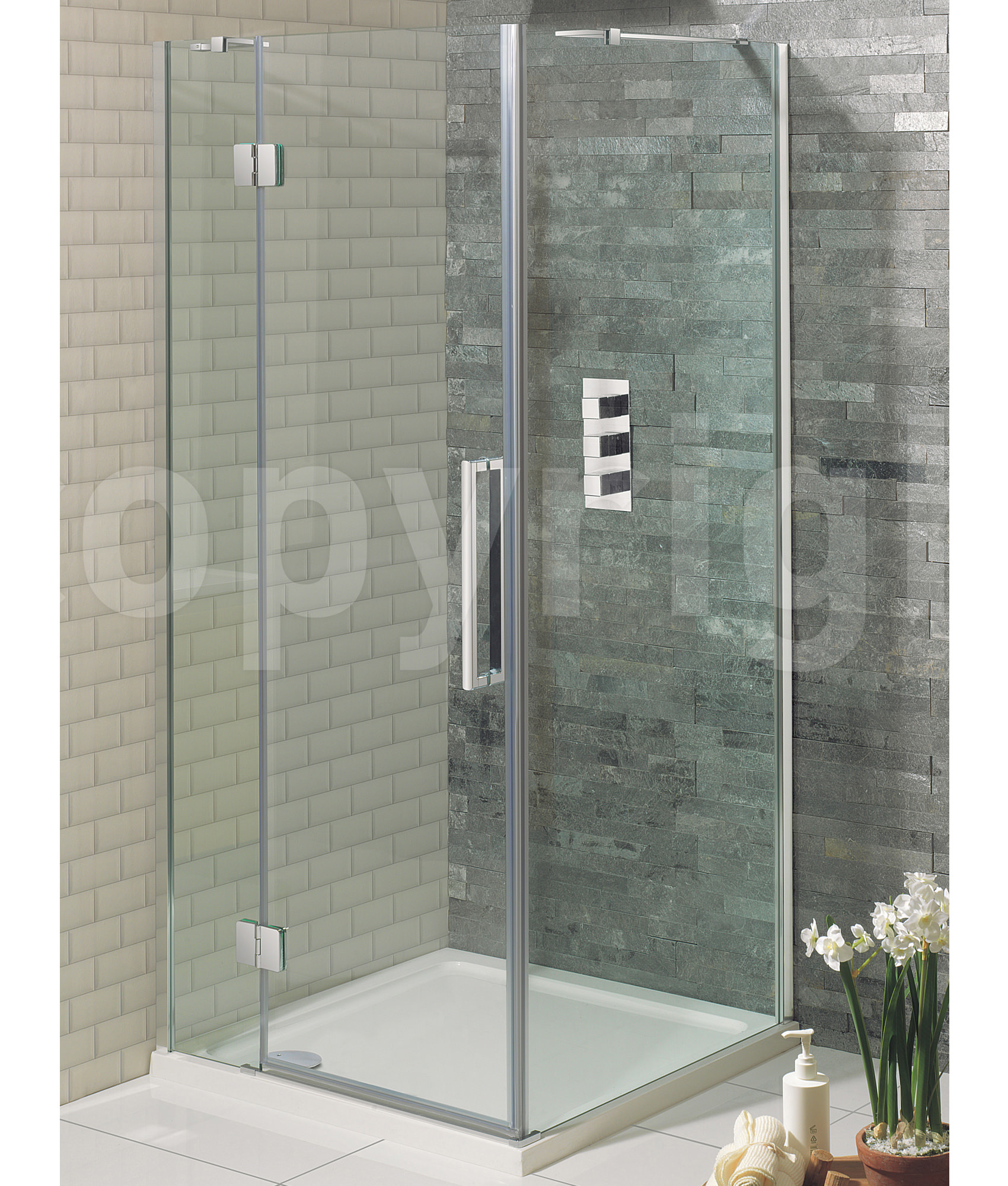 Silver mirrors for bathroom