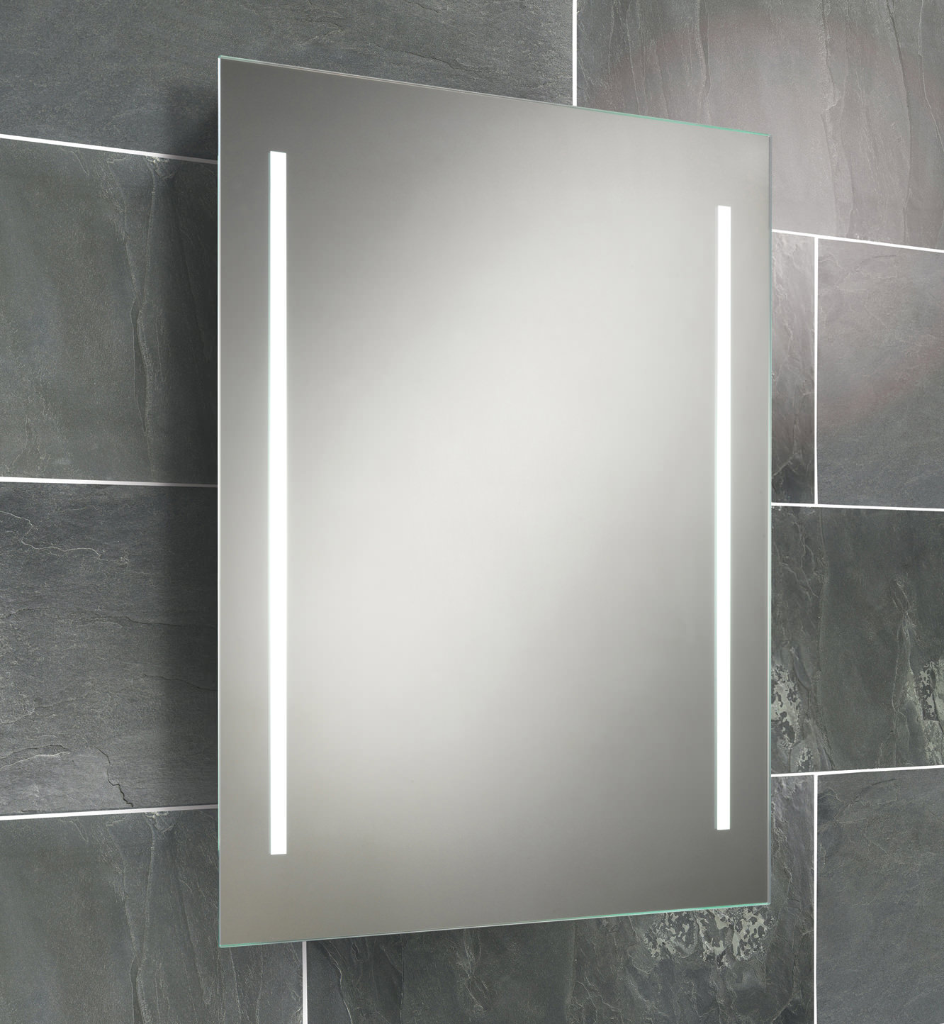HIB Casey Fluorescent Back Lit Mirror 600 X 800mm